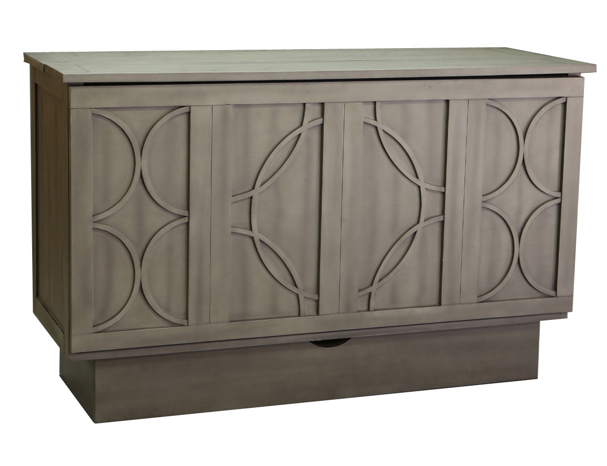 Creden-ZZZ Cabinet Bed Brussels Style Charcoal